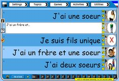 Teach French : Interactive whole class Writing activity for the IWB