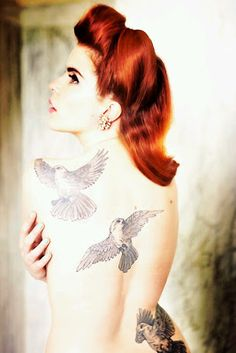 Paloma Faith's Birds Tattoo