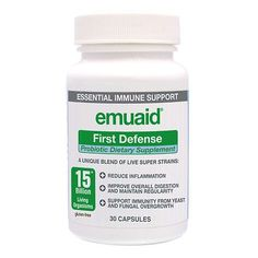 Emuaid First Defense Probiotic Dietary Supplement, Capsules - 30 ea