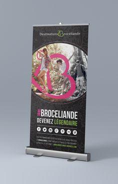 Roll-Up - Brocéliande Up, Convenience Store, Creations, Nantes