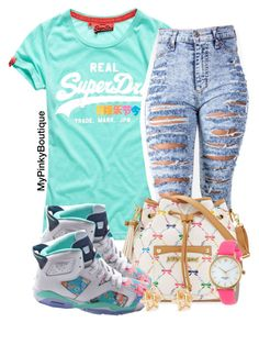 """""""#524"""" by gorgeousmama29 ❤ liked on Polyvore featuring Betsey Johnson, Forever 21 and Kate Spade"""