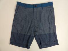O'Neill Men's Riley Hybrid Shorts Blue Printed US Size 34 NWT #ONeill #Hybrid