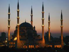 Mosque in Adana, Turkey