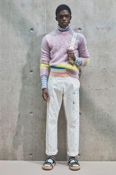 Men Fashion Show, Mens Fashion, Fashion Trends, Paris Fashion, Fashion Art, Dior Men, Knitwear Fashion, Knit Fashion, Vogue Russia