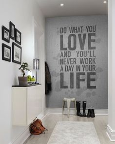 Find your perfect gray wall mural at Rebel Walls! High-quality premium gray wall murals customized to your wall. Free delivery and wallpaper paste inc Rebel, Design Studio, Salon Design, Office Walls, Office Decor, Office Chairs, Wall Text, Clinic Design, Concrete Wall