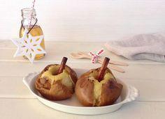 Manzanas asadas con canela y limón