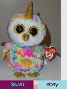 0cff9a3e40e Ty Beanie Boos Stuffed Animals   Plush Toys Toys   Hobbies