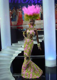 OOAK Barbie NiniMomo's Miss Cameroon 2011