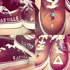I actually made my own B▲stille shows that look like these and I also have custom ones with lyrics on it
