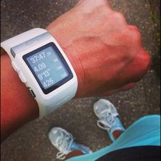 Nike+ tomtom powered gps watch Like brand new. Great watch! Nike Accessories Watches
