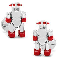 Ox and Bull Trading Co. Moving Robot Cufflinks Ox and Bull