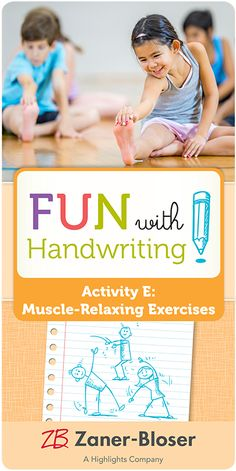 Teach teachers—and students!—how to recognize writing fatigue and provide relief. Fun suggestions get kids moving and re-positioned for writing excellence. Zaner Bloser Handwriting, Handwriting Activities, Kids Moves, Kindergarten, Students, Muscle, Positivity, Teacher, Exercise