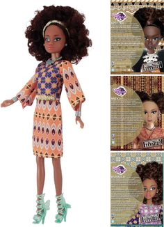 Wuraola #QueensOfAfrica #BlackDolls
