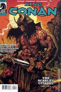 King Conan Scarlet Citadel (2011 Dark Horse) comic books