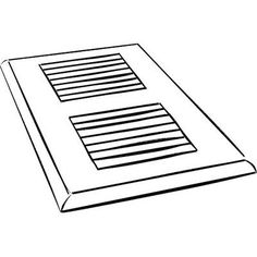 "Moldings Online 4"" x 12"" Maple Surface Mount Vent Cover"