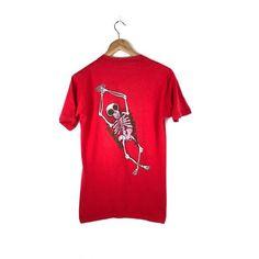 Vintage Vision Street Wear Shirt   Groholski Skull   Skate   Skateboarding    Powell   Zorlac 35e85dc51