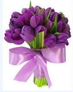 Buquê em  lilás|roxo