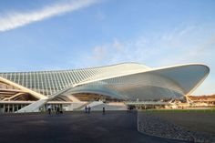 A lineup of 6 of Inhabitat's favorite sustainable railway stations.