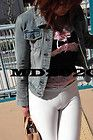 Candid 4×6 photo ASIAN GIRL SUPER TIGHT WHITE PANTS- CAMELTOE | Pinterest Rss Feed Rss Feed, White Pants, Candid, Asian Girl, Tights, Denim, Jackets, Women, Fashion
