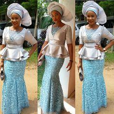 Glamorous, Trendy & Intensely Hued WDN Aso-Ebi Styles - Wedding Digest NaijaWedding Digest Naija