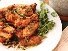 Crispy Oven-Fried Chicken Wings With Xi'an Flavors