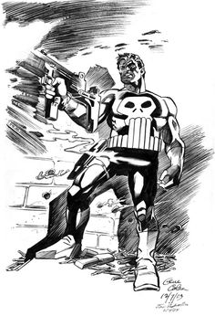 Punisher by Gene Colan