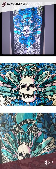 "NWT Betsey Johnson Tribal Skull Party Beach Towel NWT Betsey Johnson Tribal Skull Party Beach Towel. pls see pics - all items authentic and kept in a clean, smoke free environment. I do have the coordinating  ""beach"" mat towel and mat in another color. Betsey Johnson Swim"