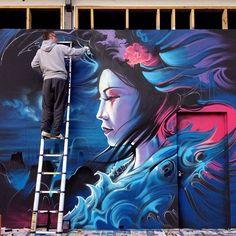 Graffiti #street #urban #art