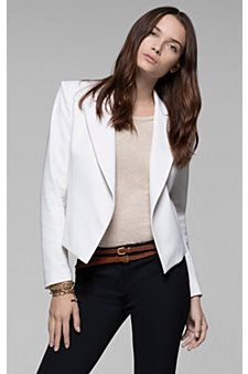 theory white jacket