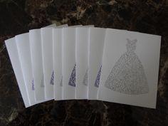 Handmade Notecards #thrifty