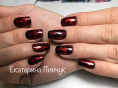 Дизайн с фольгой  Ногти #nails