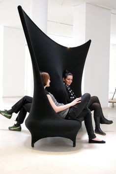 Chair by a Spanish Furniture Designer, Jordi Canudas called the Wallfa.