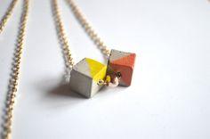 Concrete pearl necklace