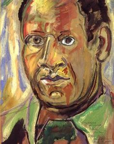Beauford Delaney (1902-1979) - Self Portrait, 1950