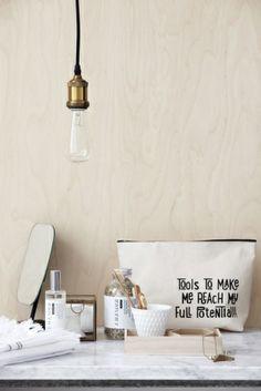 ¿Habéis visto que lámpara más sencilla pero bonita? #housedoctor #estilonordico