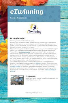 eTwinning - Sesiune de informare by silvesan tatiana Non Profit, Education, Educational Illustrations, Learning, Studying