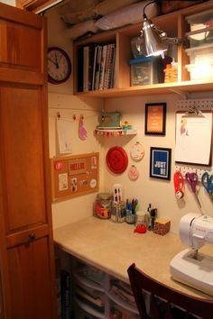 Sewing Closet Revamp; Using Every Inch Wisely! – Remodelaholic