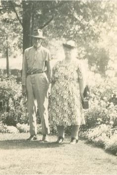 Frank and Mary Ketchum, date unknown. Wonder if this is a 25th Anniversay Photo???...1933???