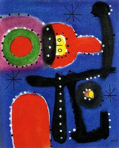 Joan Miro Masterpiece | Joan Miro - Painting 1954