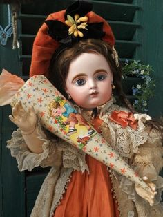 ~~~ Nice French Bisque Bebe Girl by Gaultier ~~~