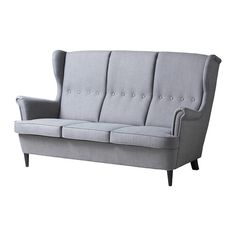 Loosen up and relax in the timeless STRANDMON sofa. It's a great trip down memory lane for everyone interested in classics from the IKEA design archives.  (limited supply, select stores only)