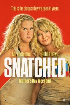Timed perfectly for Mother's Day, but she won't laugh at the super crude humor and potty mouths.  See my #moviereview of #Snatched at https://moviereviewmaven.blogspot.com/2017/05/snatched-features-motherdaughter-comedy.html