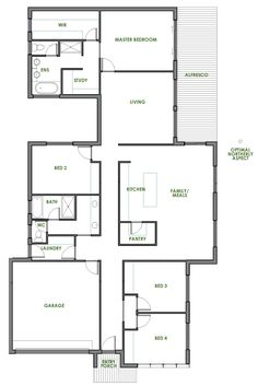 The Vesta Offers The Very Best In Energy Efficient Home Design From Green  Homes Australia. Take A Look At The Floor Plan Here.
