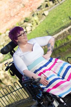 Wheelingalong24: Wheelchair Fashion: Spring Colours