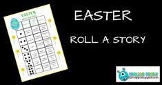 English Freak | Blog o nauczaniu języków obcych: EASTER ROLL A STORY (PRINTABLE)
