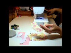 How to make doll shoe pumps - video 1
