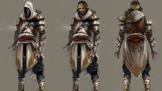 Martin Deschambault - Character Concept Assassin's Creed: Revelations #gamedesign #characterdesign #design