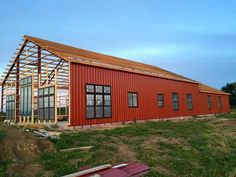 1000 ideas about metal building insulation on pinterest for Houses made out of metal buildings