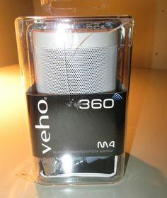 VEHO 360-DEGREE M4 BLUETOOTH WIRELESS SPEAKER  VSS-009-360BT  $100 Value