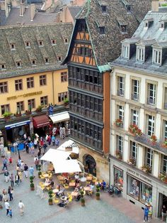 Place de la Cathédrale - Strasbourg